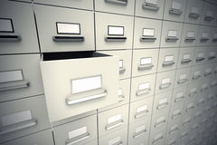 File cabinets. Stock Images
