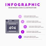 File, Computing, Code, Coding Infographics Presentation Template. 5 Steps Presentation vector illustration