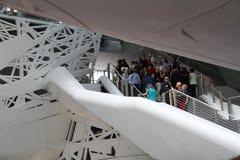 File d'attente au pavillon d'Itlian Photo libre de droits