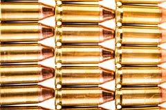 File delle munizioni della rivoltella Immagine Stock Libera da Diritti