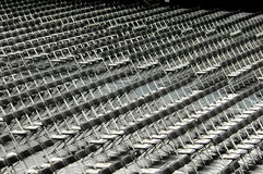 File delle sedie ad una graduation Immagini Stock Libere da Diritti