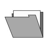 file design. File icon. Folder document data archive and storage theme.  design. Vector illustration Stock Image