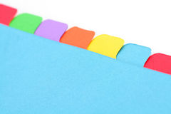 File divider Royalty Free Stock Photos