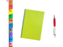 File Dividers Stock Photography