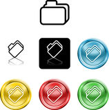 File document folder icon symb Stock Photography