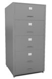 File Drawer isolated on white Royalty Free Stock Photography