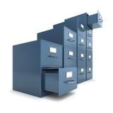 File drawers Stock Image