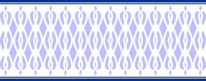 FILE: Elegant decorative border made up of several blue colors. Elegant decorative border made up of several blue colors a Vector Illustration