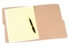 File folder Royalty Free Stock Images