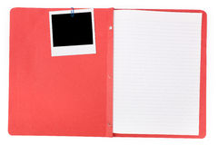File folder Stock Photo
