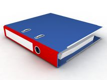 File folder. On a white background Royalty Free Stock Image