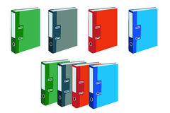 File Folder. Colorful File Folder for your e-office Stock Photo