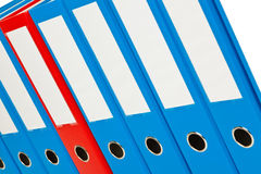 File folder with documents and documents. Retention of contracts Royalty Free Stock Image