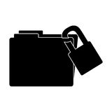 File folder icon image. Vector illustration design Stock Photography