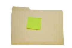 File folder Royalty Free Stock Photos