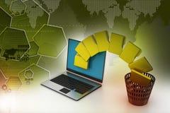 File folder transfer Stock Images