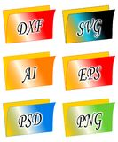 File folders Stock Photos