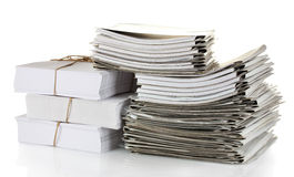 File folders Royalty Free Stock Photography