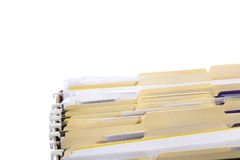 File Folders Royalty Free Stock Images