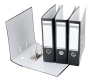 File folders isolated Royalty Free Stock Images