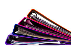 File folders Royalty Free Stock Image