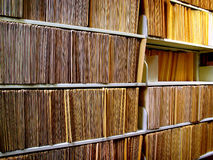 File Folders On Shelf Royalty Free Stock Image