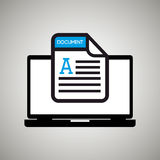 File format design. Illustration eps10 graphic Royalty Free Stock Photos