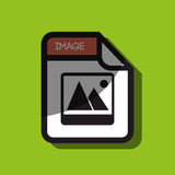 File format design. Illustration eps10 graphic Stock Photos