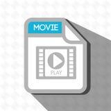 File format design. Illustration eps10 graphic Stock Image