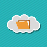 File icon design. File concept with icon design,  illustration 10 eps graphic Royalty Free Stock Photos