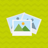 File icon design. Illustration eps10 graphic Stock Images