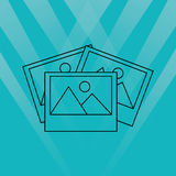 File icon design. Illustration eps10 graphic Royalty Free Stock Photo
