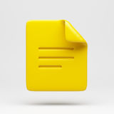 File Icon Royalty Free Stock Photography