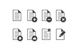 File Icons Royalty Free Stock Images