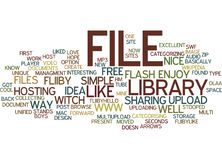 File Library Wwwfliibycom Text Background Word Cloud Concept Royalty Free Stock Photography
