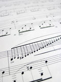 File for musical backgrounds, music notes Royalty Free Stock Photo
