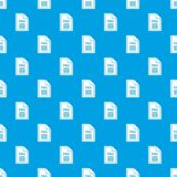 File PNG pattern seamless blue. File PNG pattern repeat seamless in blue color for any design. Vector geometric illustration Stock Image