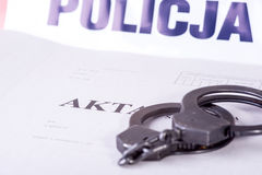 File police investigation Stock Photography