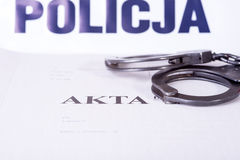 File police investigation Royalty Free Stock Photo