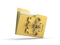 File protection Stock Photo
