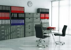 File & Record Room Stock Photography
