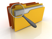 File Search Royalty Free Stock Photo