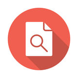 File Search Icon Stock Images