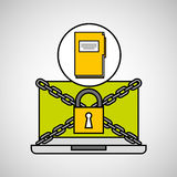 File security internet technology Royalty Free Stock Photography