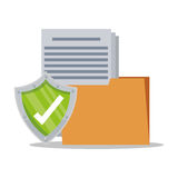 File and security system design Stock Photography