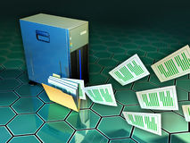 File server Royalty Free Stock Photos