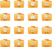 File Set. Web file set for web design royalty free illustration