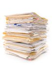 File Stack Stock Image