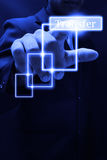 file transfer Stock Image