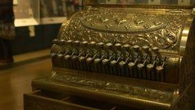 FILE: Vintage Cash Register stock video footage